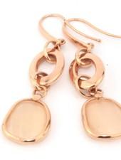 Monzario Oro Monzario oorhangers goud 0934