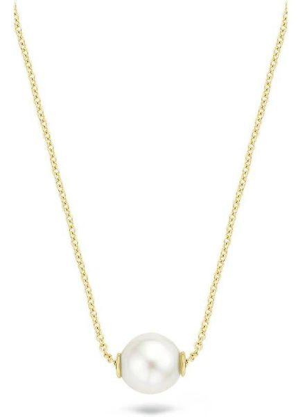 Blush Blush gouden collier met parelhanger 3076YPW