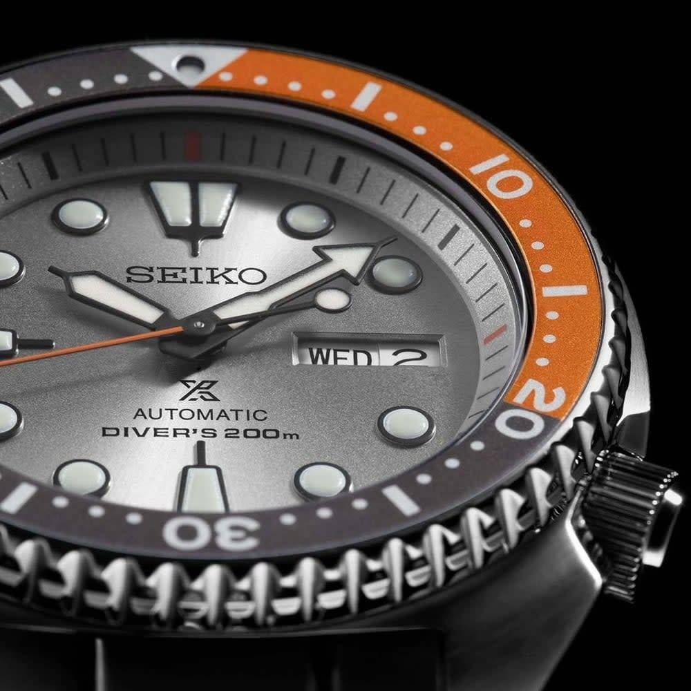 Seiko SEIKO SRPD01K1 PROSPEX AUTOMAAT DAWN GREY TURTLE LIMITED EDITION 45 MM