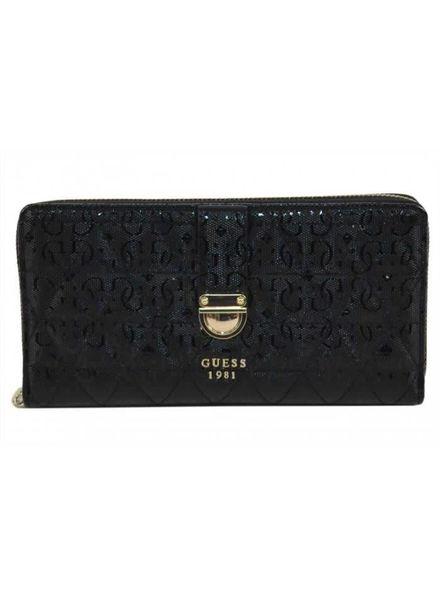 Guess Guess portemonnee Tabbi Zipp Around zwart SWSG718630BLA