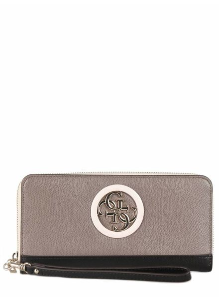 Guess Guess portemonnee Open Road Taupe Multi SWVG7186460TMU