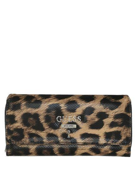 Guess Guess portemonnee Leanne Leopard