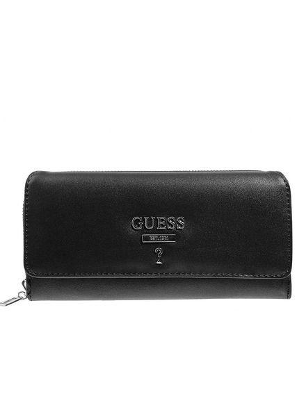 Guess Guess portemonnee Leanne zwart SWVY7170620BLA