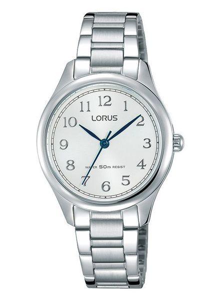 Lorus Horloge DAMES STAAL BRACELET WIT 50M WR