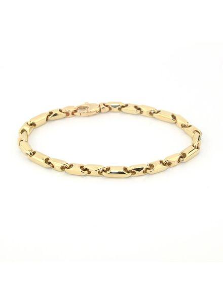 Monzario Oro Monzario Oro gouden armband 596A geel
