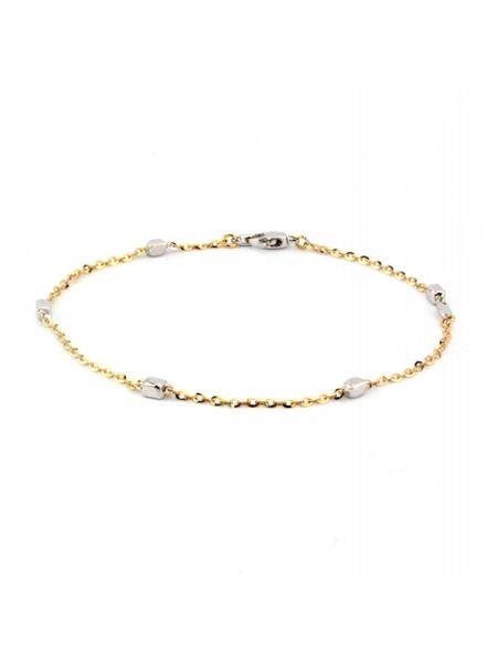 Monzario Oro Monzario gouden armband 1188A