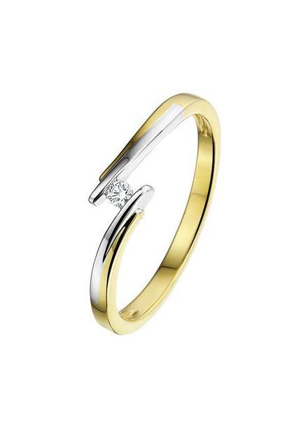 Passione Passione ring GR0391-55 0,05ct H/Si