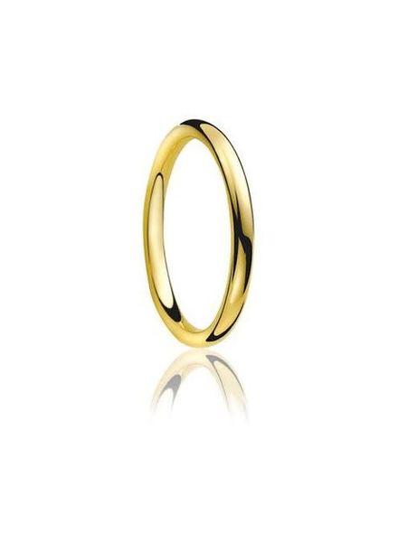 Tomylo Tomylo gouden kogelring 2mm