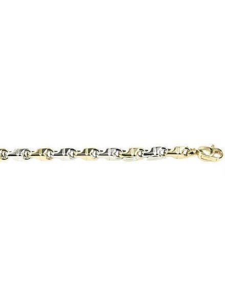 Monzario Oro Monzario gouden armband 925ABIC