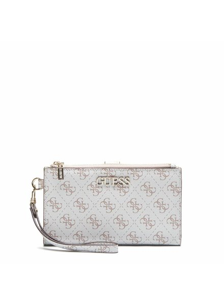 Guess Guess Portemonnee Double Zip SWSG7295570WHI