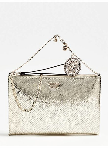 Guess Guess Tas Spring Fever Mini Clutch Gold HWPP7308690GOL