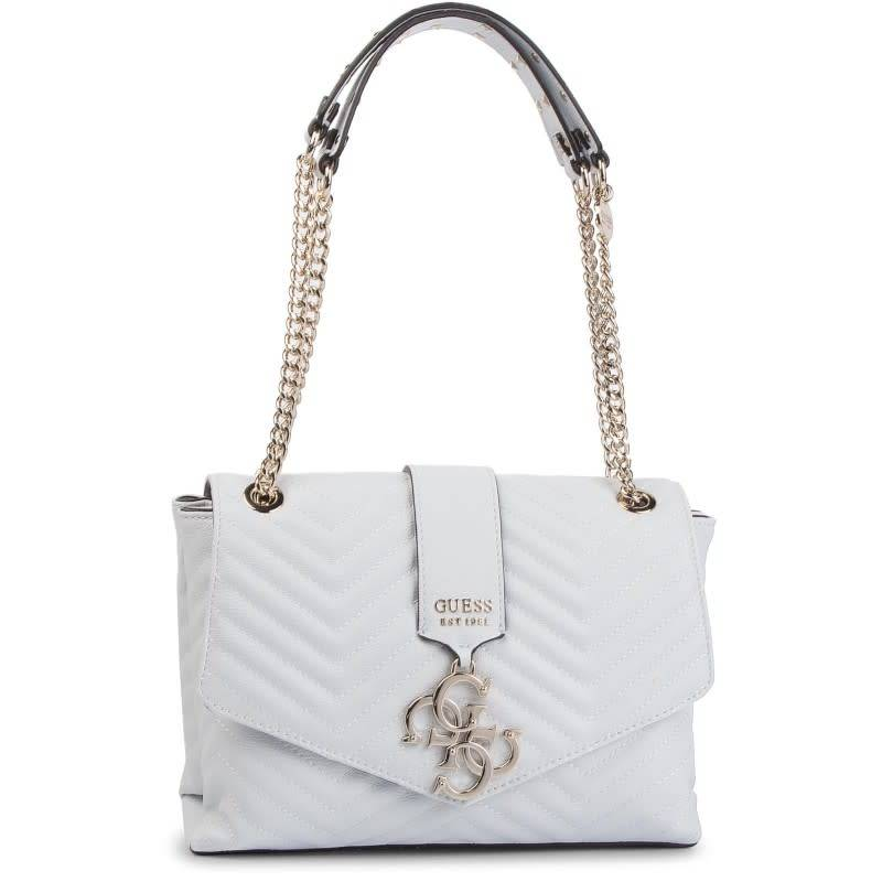 Guess Guess Tas Violet Shoulder Bag White HWVG7294200WHI