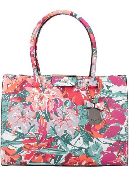 Guess Tas Ryann Status Carryall Pink Floral HWFG6683230PFL