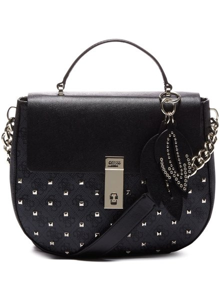 Guess Guess Tas Nissana Top Handle Flap Coal - HWSS6786180COA
