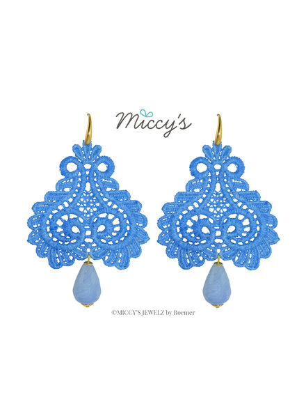 Miccy's Miccy's oorhanger Pizzo, blue