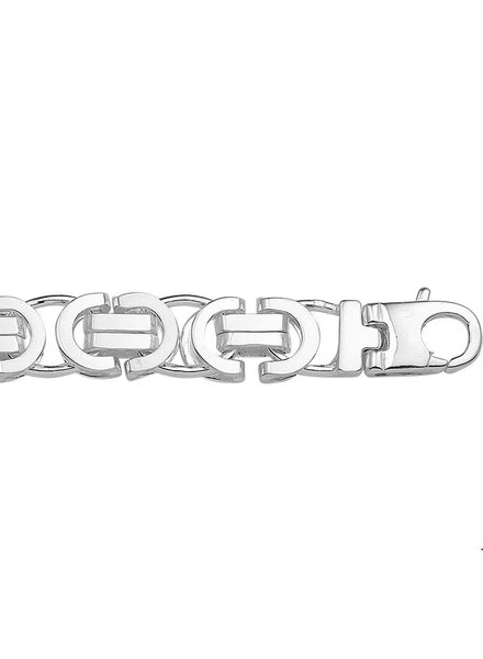 Tomylo Zilveren ketting Ketting 1015587 60cm