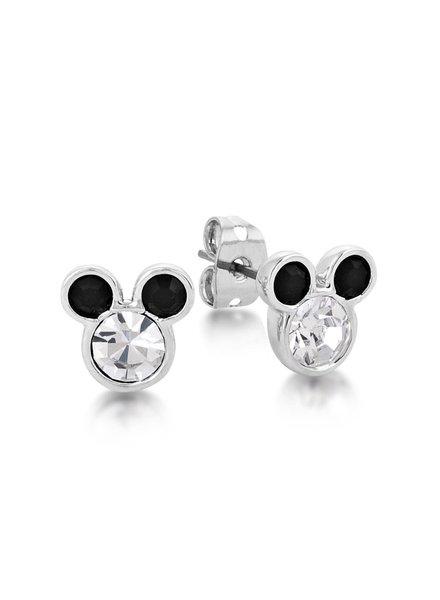 Disney Disney Mickey oorknoppen zwart&wit