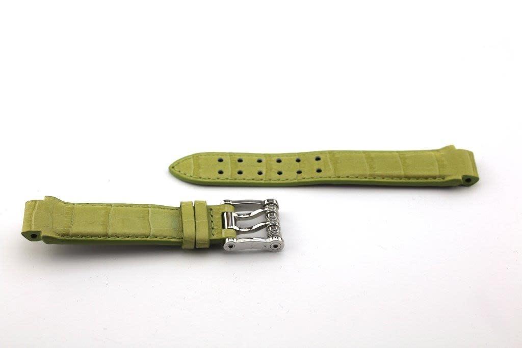 Aquanautic Aquanautic Bara Cuda horlogeband limegroen