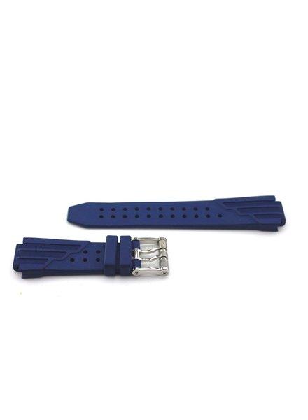 Aquanautic Rubberen horlogeband King Cuda blauw