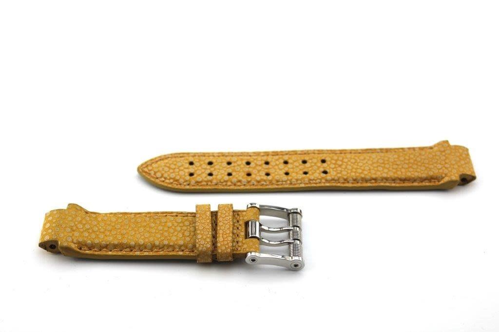 Aquanautic Aquanautic Bara Cuda horlogeband Geel