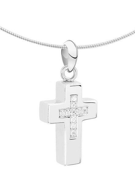 Silent Memories Silent Memories zilveren ashanger kruis 1031Z