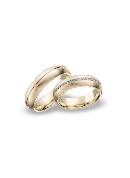 Blumer Geelgouden trouwringen 46/00151 - 46/00152