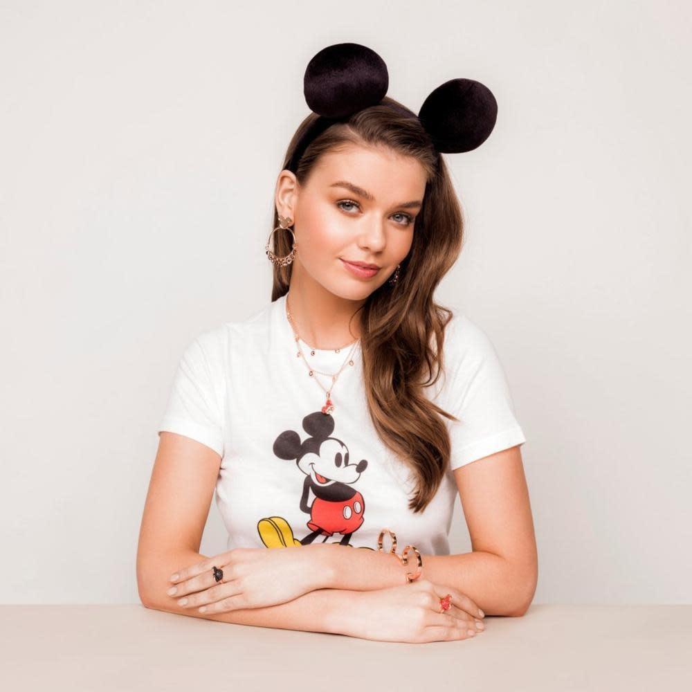 Disney Disney oorringen Mickey Mouse verguld