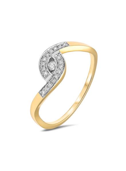 Passione Passione ring GGA0714-55 0,12ct. H/Si