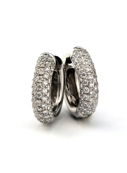 Tomylo Tomylo creolen met diamant