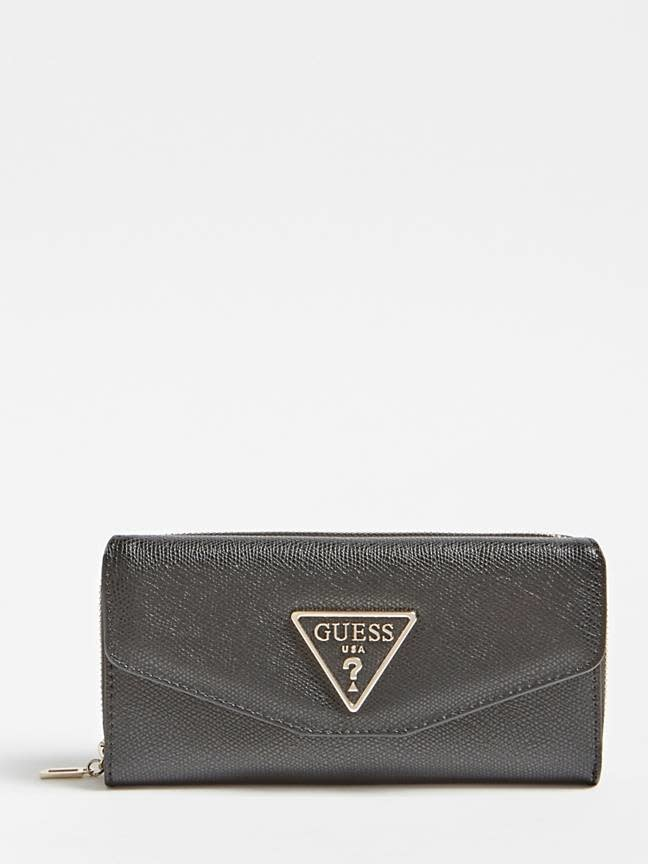 Guess Guess portemonnee Maddy Black SWVG7291620BLA