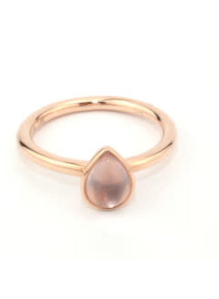 Passione Tomylo Passione gouden ring GGE1485-52 0,88ct rosekwarts