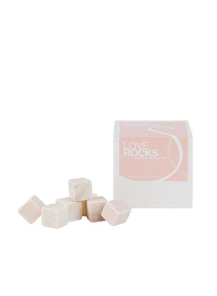 Stoned Stoned ijsblokjes roze marmer P012