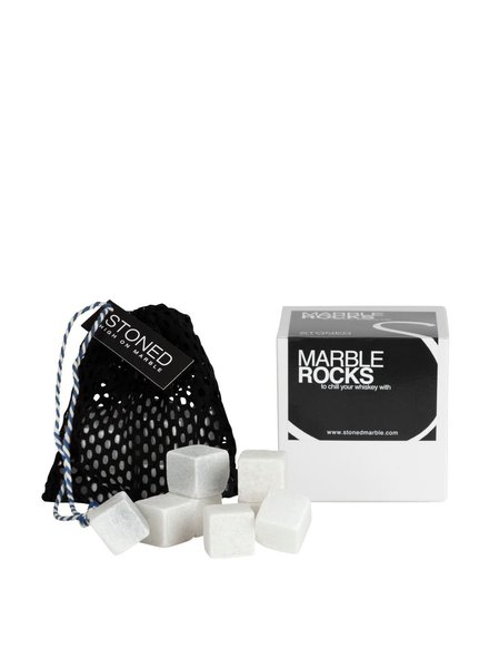 Stoned Stoned ijsblokjes Wit Marmer W012