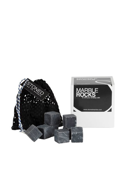 Stoned Stoned ijsblokjes zwart marmer B012