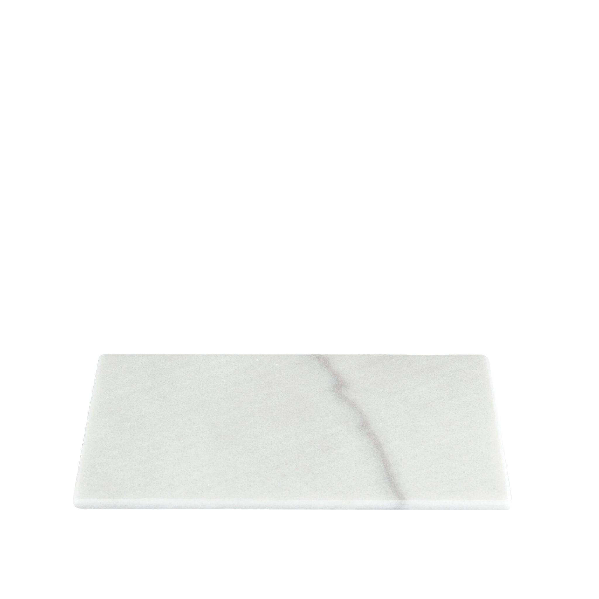 Stoned Stoned Serveerplank wit marmer W015