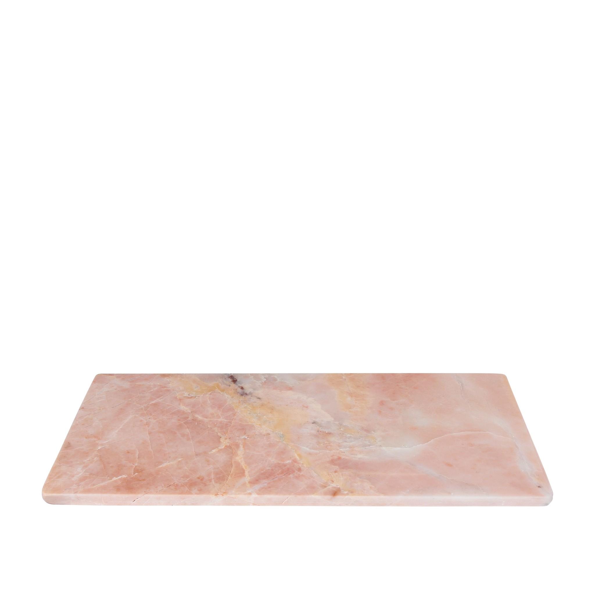 Stoned Stoned snijplank 15 x 30 roze marmer