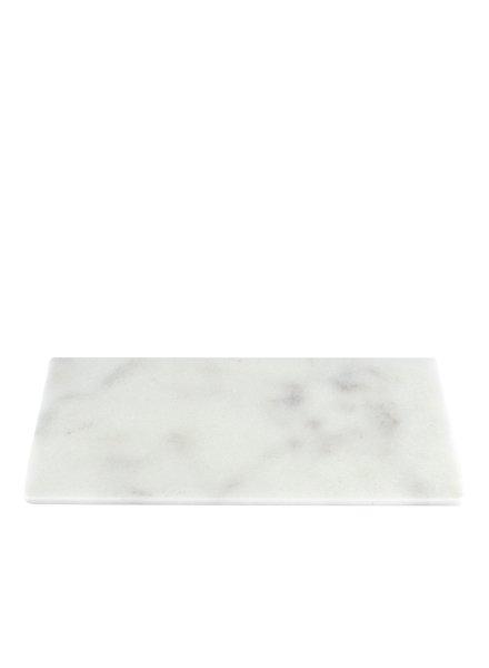 Stoned Stoned snijplank 20x40 wit marmer W020