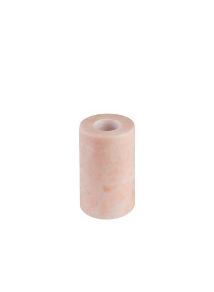 Stoned Stoned large kandelaar roze marmer P002