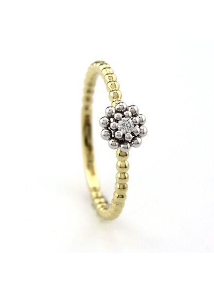 Passione Tomylo Passione ring met 0.04ct. diamant H/Si /55