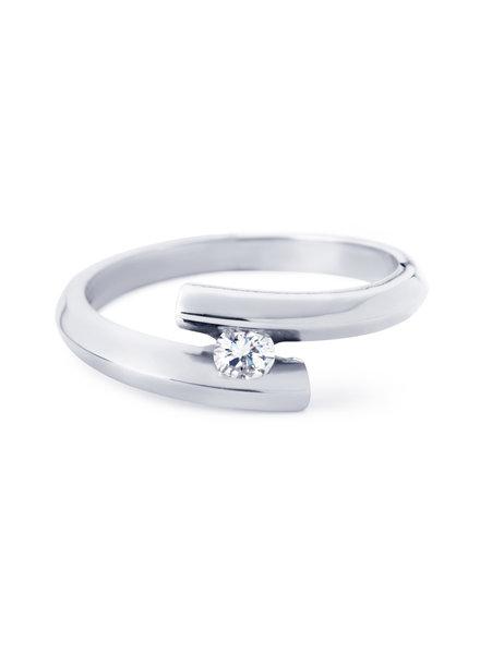 R&C Witgouden ring, Penelope Medium