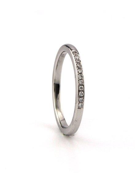 Passione Passione gouden ring GA5365-53 0,06ct H/Si