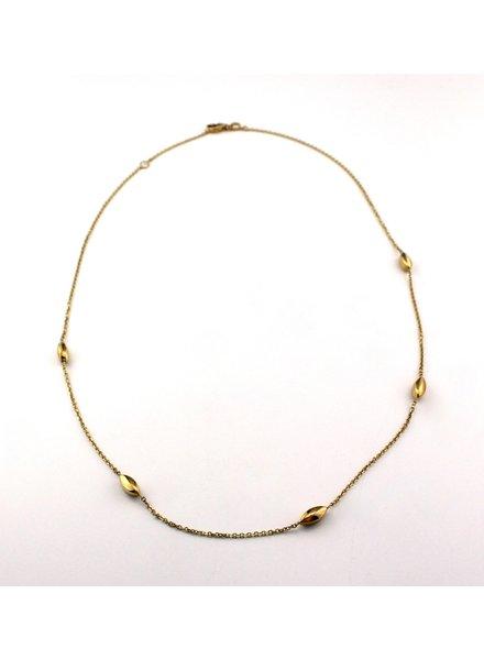 Monzario Oro Monzario gouden collier 988C
