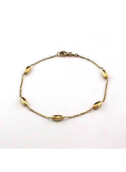 Monzario Oro Monzario gouden armband 988A
