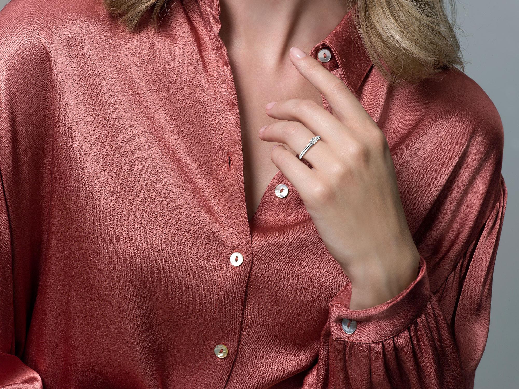 Blush Blush ring 1067WZI/54