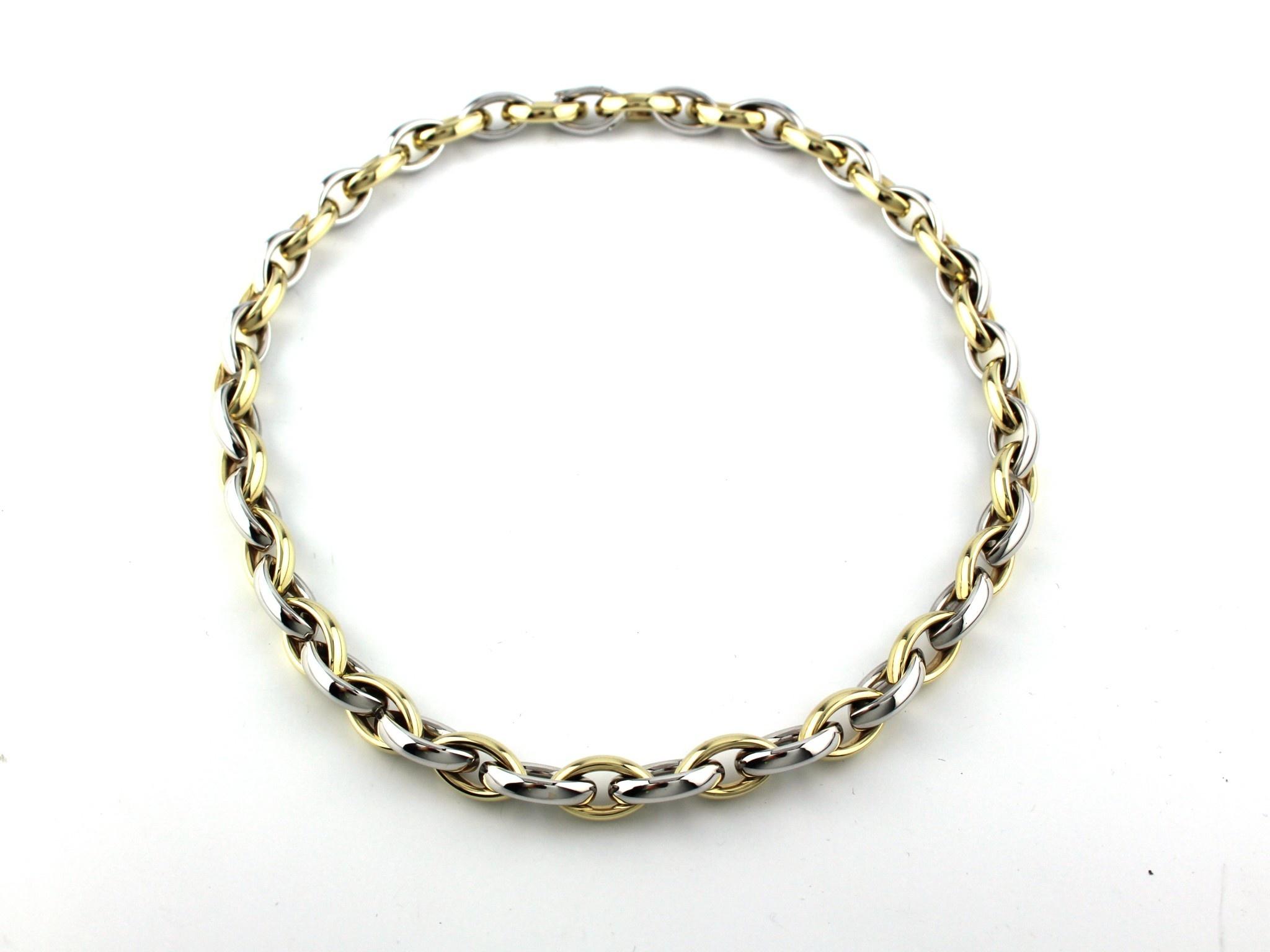 Tomylo Tomylo gouden collier Navette 47 cm