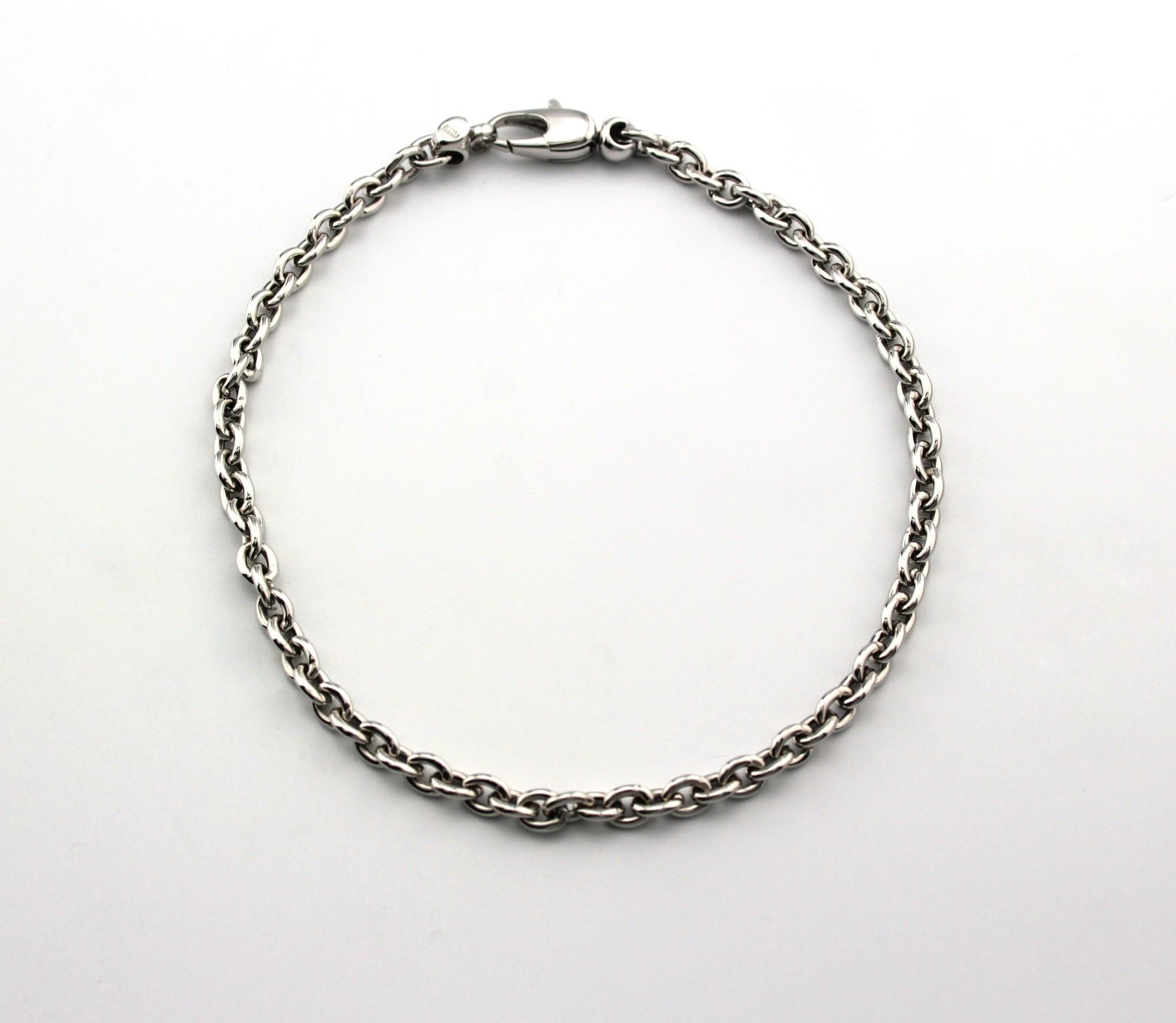 Tomylo Tomylo gouden armband Anker 19.5cm