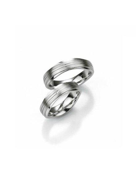 Breuning Breuning, zilveren relatiering, herenring 48/08014.
