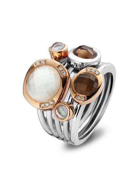 Tirisi Moda Tirisi Moda ring TM1050SQ(2P)L