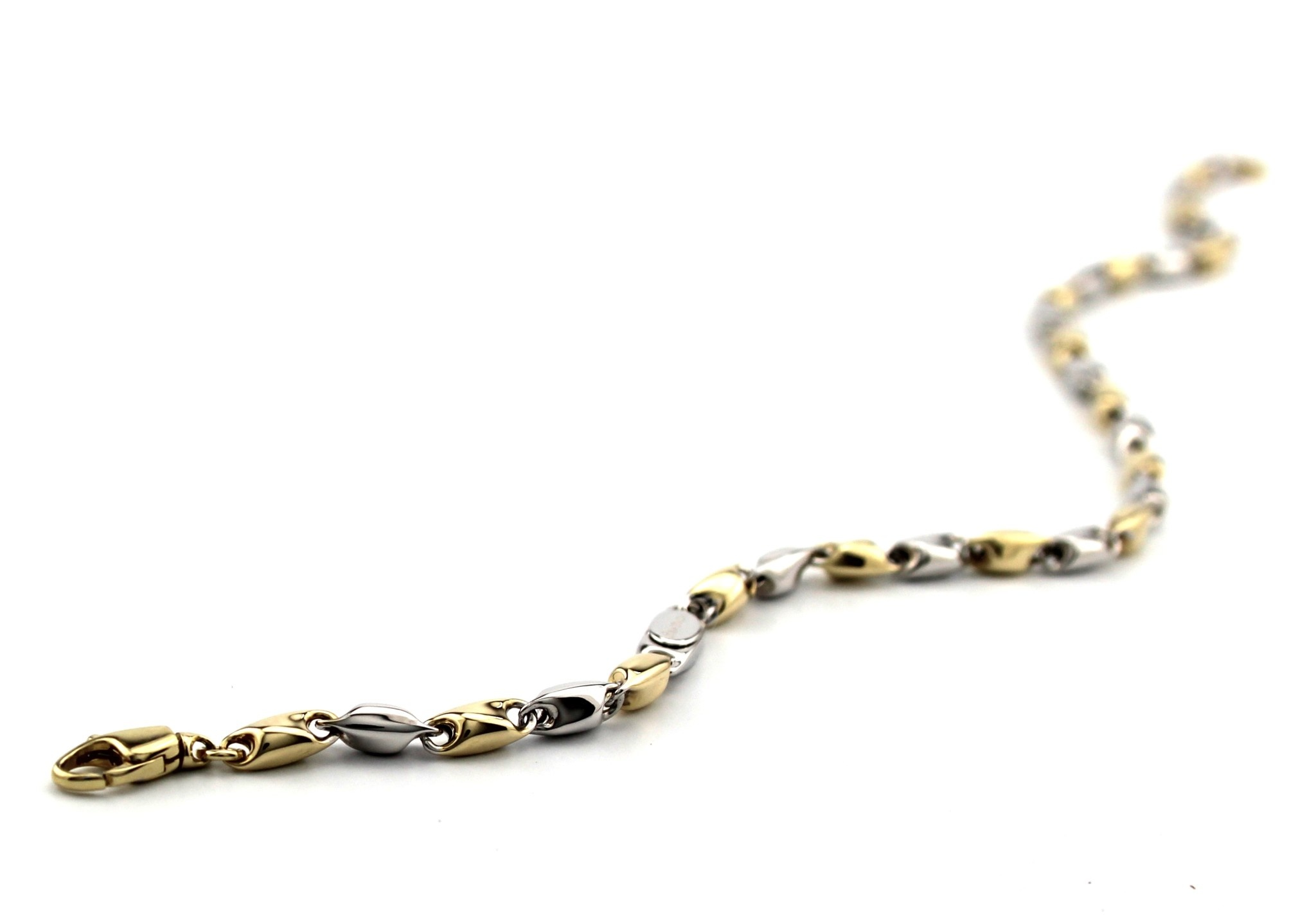 Monzario Oro Monzario Armband goud 81A bicolor