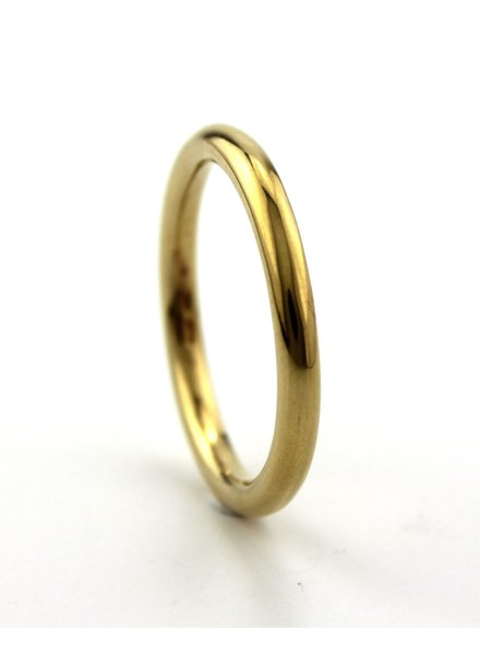 Dji Dji Italia Dji Dji, Zilveren ring, Rond Geel.
